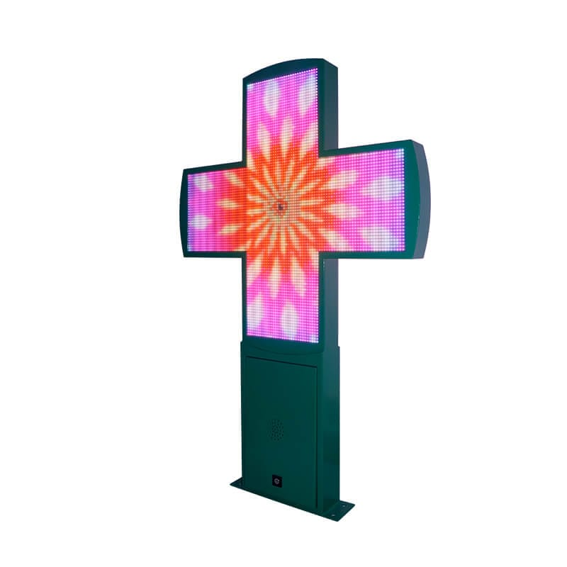 Glamorous  cross type led display