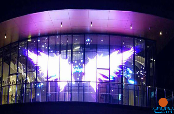 LED glass curtain wall
