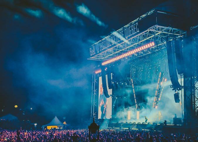 concert display
