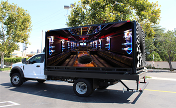 Truck led display