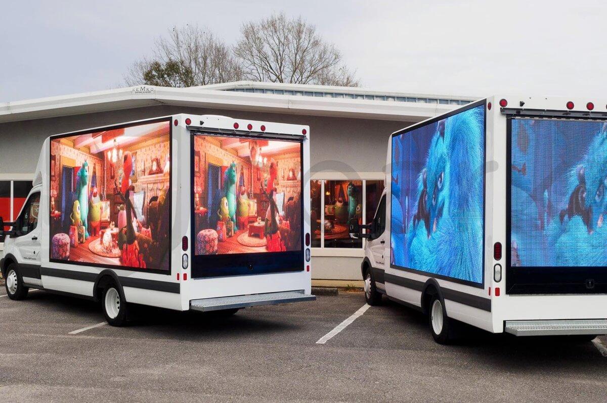 Solution of Mobile LED truck