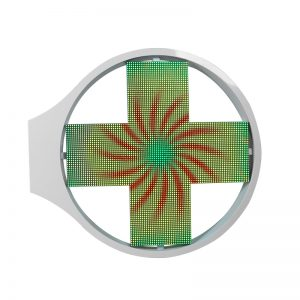 Grace cross type led display