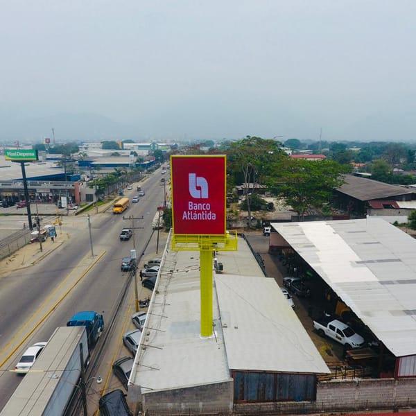 P10mm Nationstar brand leds led billboard in Honduras