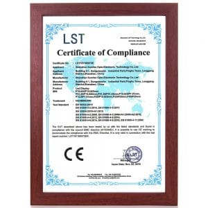 CE certification of LED display screen