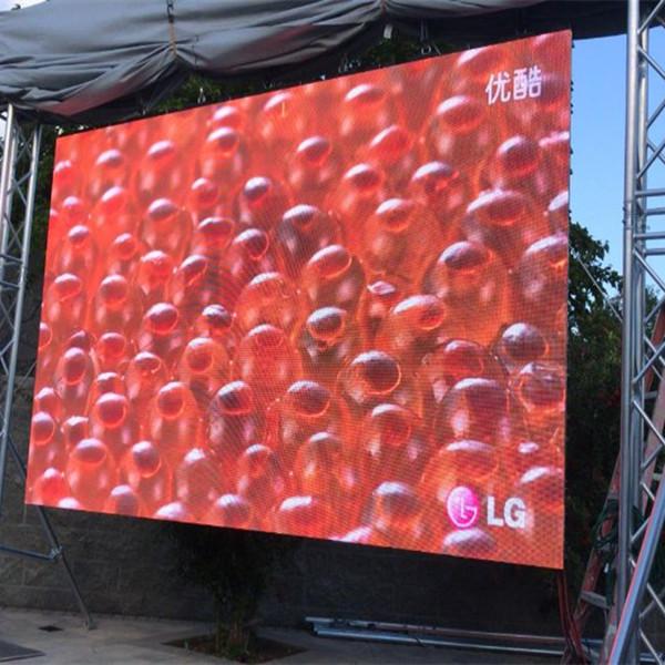 3×2.5m Long Beach LED wall in Swimming Pool