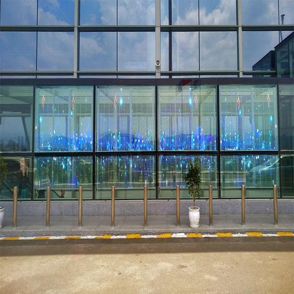 Diamond-3978 series transparent screen in Guizhou