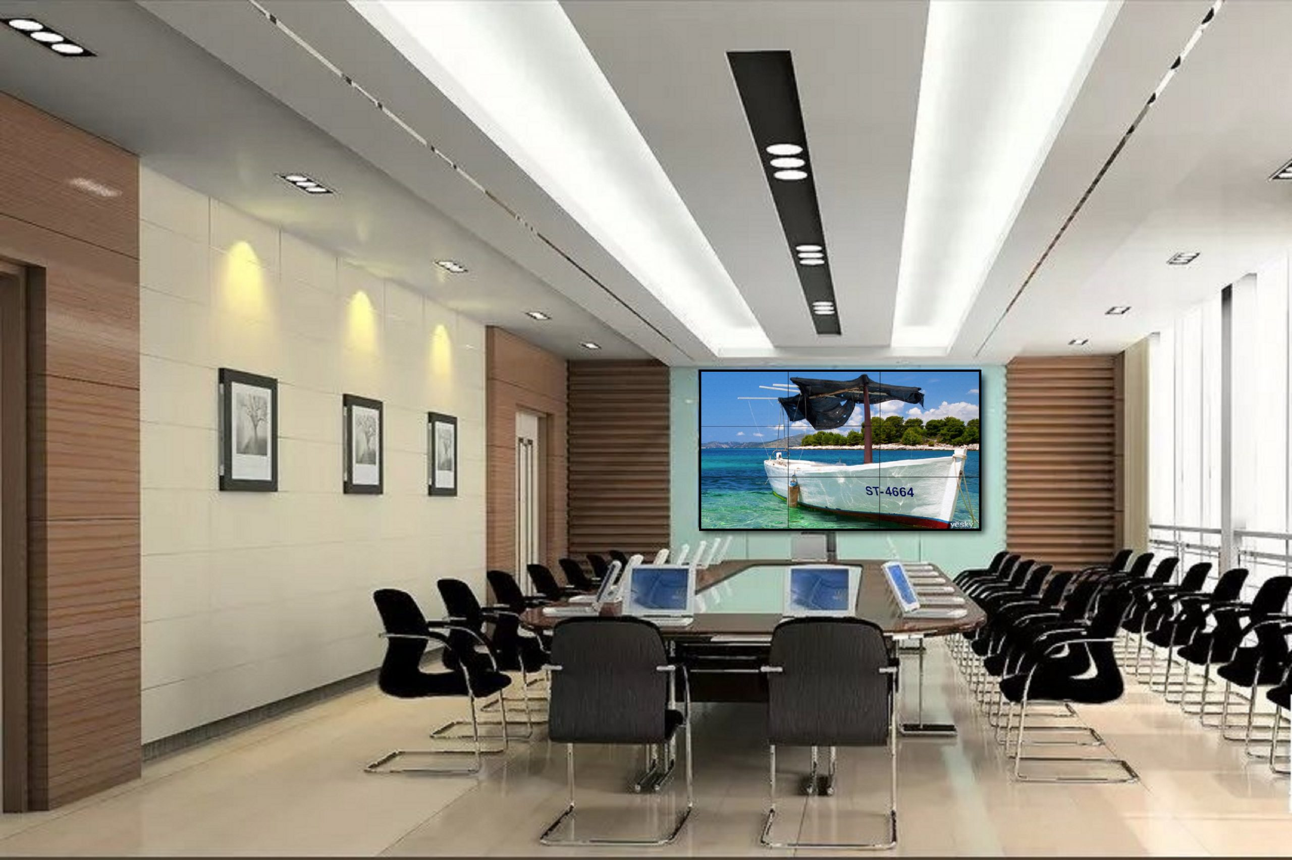 Question:How to choose a full color LED display screen in a large hotel?