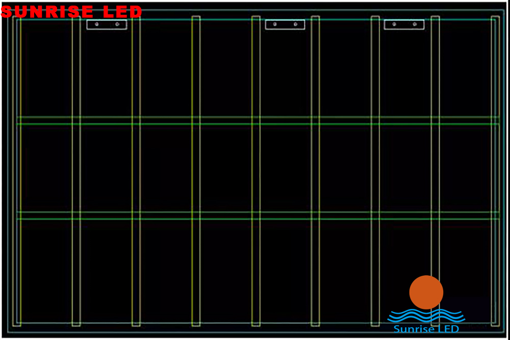LED display installation diagram, very easy to understand!