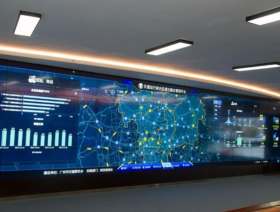 Under the wave of new infrastructure, the development trend of smart transportation display
