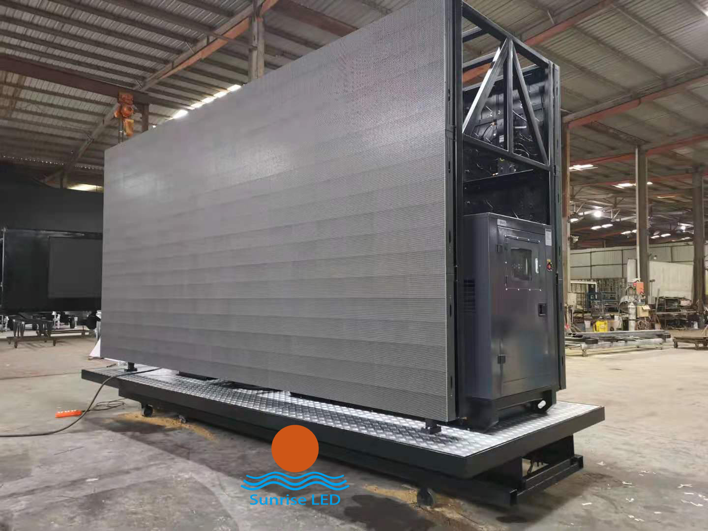 Sunrise P6.667 liftable truck screen exported to Miami, USA