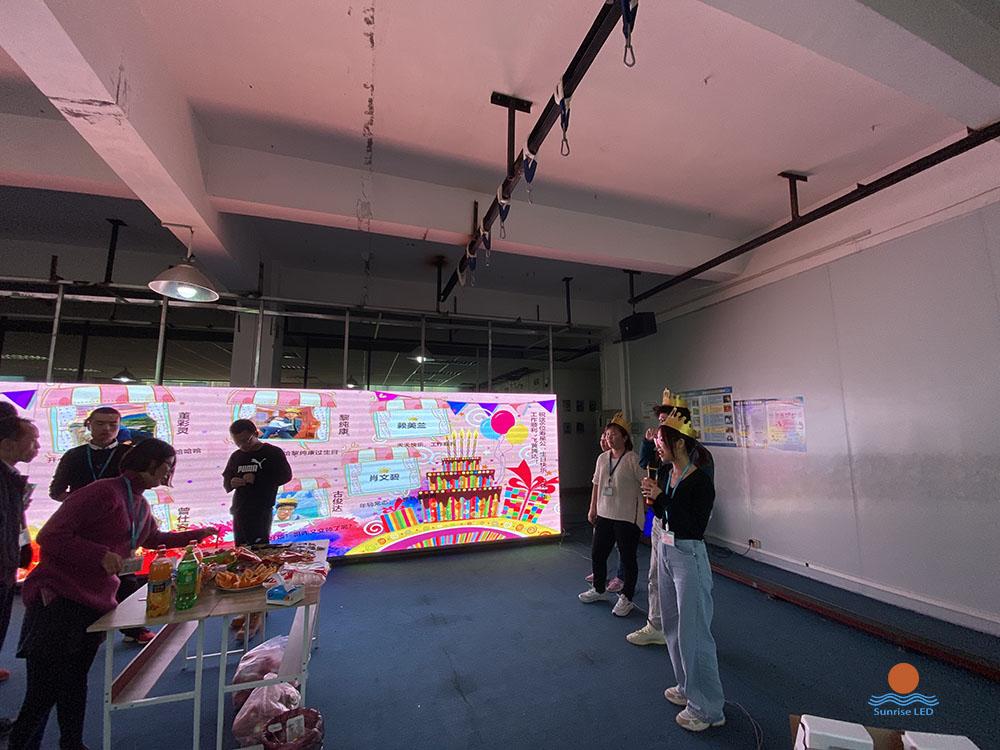 Sunrise LED team