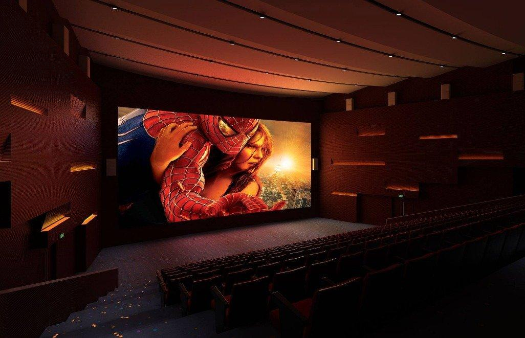 Domestic LED screen cinema Road, led film screen market can be expected!