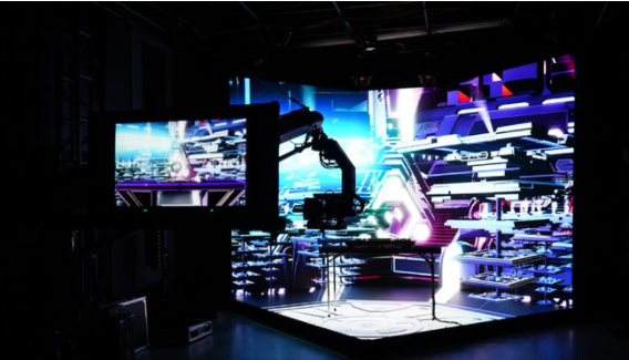 XR technology + LED display, leading the new trend of virtual production