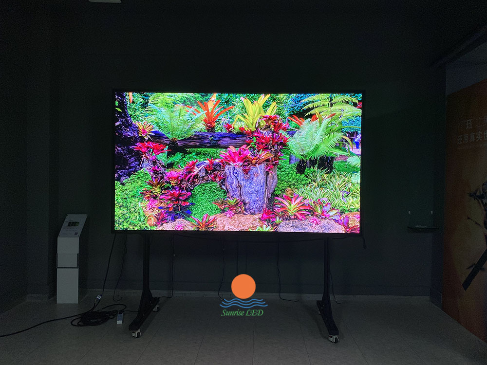 make the LED display more high-definition